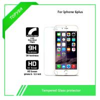 Quality wholesale clear 9H hardness Tempered glass screen protector for iphone 6s wholesale