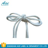 China 100% Cotton Webbing Straps Printed Flat Cotton Elastic Cord Shoelace factory
