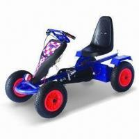 China Go Kart with Pneumatic Rubber Air Tires and Chain Guard factory