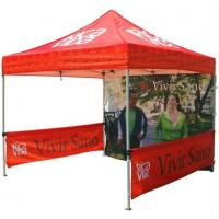 Buy cheap Red 10x10ft Easy Folding garden Pop Up Gazebo Tent Dye Sublimation Printing from Wholesalers