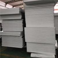 Buy cheap precast concrete 50mm eps sandwich fence panels 950-50-0.326mm from Wholesalers
