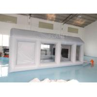 China Automotive Workstation Inflatable Spray Booth Double Stitching factory