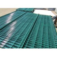 China Powder Or Pvc Coated Galvanized Welded Wire Mesh Fence/Curved 3D Welded Wire Fence on sale