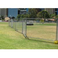 Buy cheap 2400 Mm Panel Height Chain Link Fence For Temporary Heat Treated Press Treat from Wholesalers