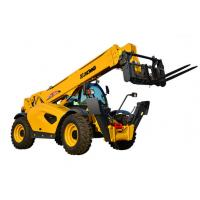 China 10 Ton Telescopic Telehandler Forklift 6290 X 2450 X 2725mm With Good Stability factory