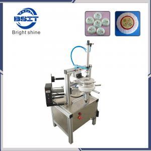 China Hot Sale Manual tea cake /food Pleat Soap Packaging Machine (Ht-900) factory