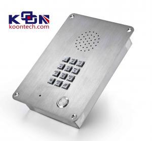 Buy cheap Public IP65 Weatherproof Emergency Phone Handsfree Stainless Steel from Wholesalers