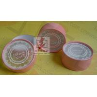 Buy cheap Customised Pink Cardboard Canister Packaging With Plastic Jar from Wholesalers