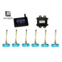 China Anti - Tire Explosion Truck Tire Pressure Monitoring System , Tpms Monitoring System With 4 Sensors factory