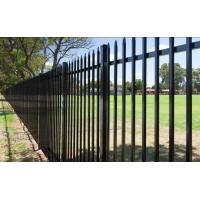 China Wrought Iron Fence Panels , Wrought Iron Privacy Fence Aging - Resistant on sale