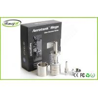 Buy cheap Upgraded Dual Coil Arotank Mega E Cig Clearomizer With 3.8ml Capacity And Airflow Control from Wholesalers