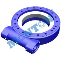 China Vertically Mounted Worm Gear Slew Drive Sun Tracker For Construction Machinery factory