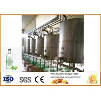 Buy cheap 200T / Year Green Plum Wine Fermentation Equipment Production Line Food Grade Processing from Wholesalers