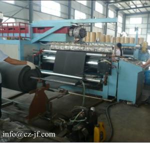 China High output Laminating machine for Car Mats factory