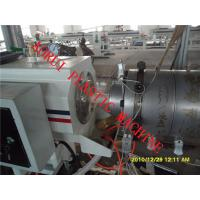 China Cold / Hot Water Plastic Pipe Extruder Single Screw Co-Extruding on sale