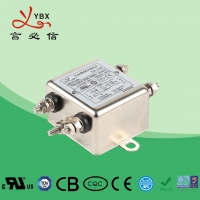 China High Performace Two Stage 90dB 220V AC Line EMI Filter factory