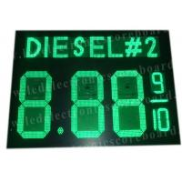 China Highway Service Station Digital Gas Price Signs 900mm X 1200mm X 100mm factory