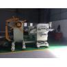 800mm Galvanized Coil Roll Decoiler Straightener Feeder Machine With Cylinder Disc Brake