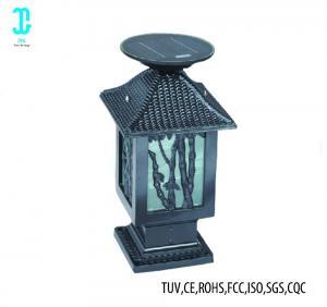 China Black Solar LED Outdoor Landscape Lighting Solar Led Walkway Lights 6500K factory