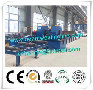 China Automatic H Beam Welding Line , H Beam Gantry Welding And Straightening Machine factory