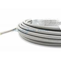 Buy cheap High Pressure Metallic Braided Sleeving , Stainless Steel Braided Cable Sleeving from Wholesalers