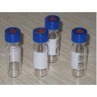 China Glass Vials PTFE Silicone Septa Clear High Performance 2ml 100/pk on sale