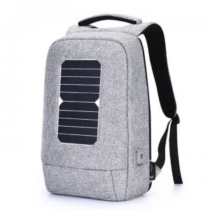 China Outdoor Solar Power Panel AJ Business Laptop Backpacks factory