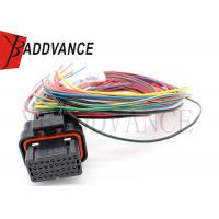 Buy cheap 34 Pin Female Sealed ECU Tyco AMP Connectors With 400mm Wire Loom A 7-1866487-1 from Wholesalers