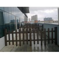 Buy cheap Composite wood post WPC Fence Panels and edging for playgroud , daycare from Wholesalers