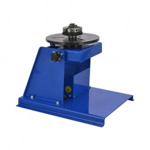 China 1200kg Load Height Adjustable Tube Welding Rotary Positioner Table factory