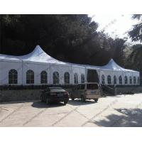 Buy cheap Large Luxury White Outdoor Event Tent High Peak Frame Durable For Exhibition from Wholesalers