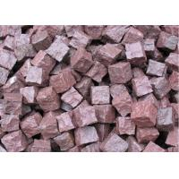 China Granite Outdoor Natural Paving Stones For Garden / Patio Red Porphyry on sale