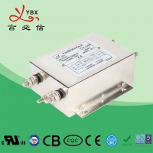 China Industrial AC Power Noise Filter , EMI EMC RFI 240V AC Mains Filter factory