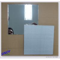 China Aluminium Safety Processed Mirror Glass Decorative For Wardrobes factory