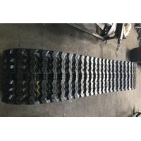 China Hot Sell Rubber and Steel Tracks/Crawler for loader machine  ZZS450X86X56 factory