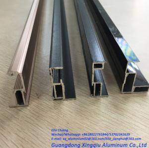 China Customized Aluminium Profile for Sliding Wardrobe Door Aluminum alloy sliding door frame factory