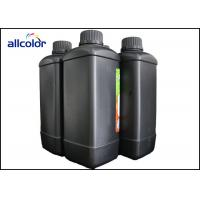 China Konica UV Printer Ink , CMYK And White UV Curable Ink 1L / Bottle factory