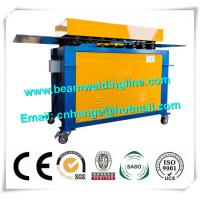 China Automatic Electric Wind Tower Production Line , HVAC Duct Pittsburgh Lock Forming Machine factory