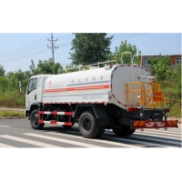 China 6045kg Special Purpose Vehicles Road Spray Sprinkler For Dust Suppression factory