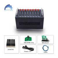Buy cheap 8 Port 3G WCDMA bulk sms Modem For Free Bulk Sms Sending And Receiving from wholesalers