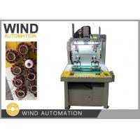 Buy cheap Double Station Stator Winding Machine For Out Runner Single Phase 3 Phase Fan from wholesalers