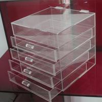 China Hot clear 6 drawer  perspex / acrylic makeup organizer for wholesale factory
