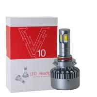 Buy cheap 3000K H8 / H9 / H11 Car LED Headlights V10 DC 12 - 24V 120W High Power from Wholesalers