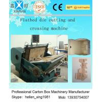 China Corrugated Cardboard Manual Flat Creasing And Die-Cutting Machine 5.5kw / 7.5kw factory