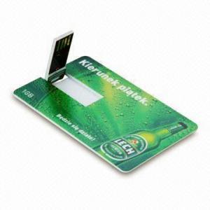 China Credit card usb flash pendrive factory