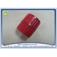 Buy cheap Milling Machine Custom CNC Aluminum Parts With Red Spray Painting from Wholesalers