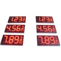 China 8.88 9 / 10 Led Gas Price Display , Digital Gas Station Price Signs Outdoor Type factory