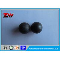China HRC 60-68 High chrome cast iorn ball mill balls for SAG mill and AG mill on sale