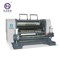 China Jumbo Paper Roll Rewinding Machine Blower Trimming 380V 50Hz Power Supply factory