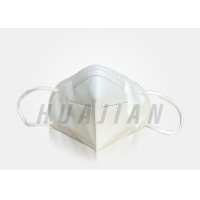 China Hang ears Disposable Anti Dust 5 Layers Earloop KN95 Face Mask factory
